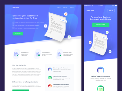 Letter Generator Website by Ibnu Mas\'ud - Dribbble