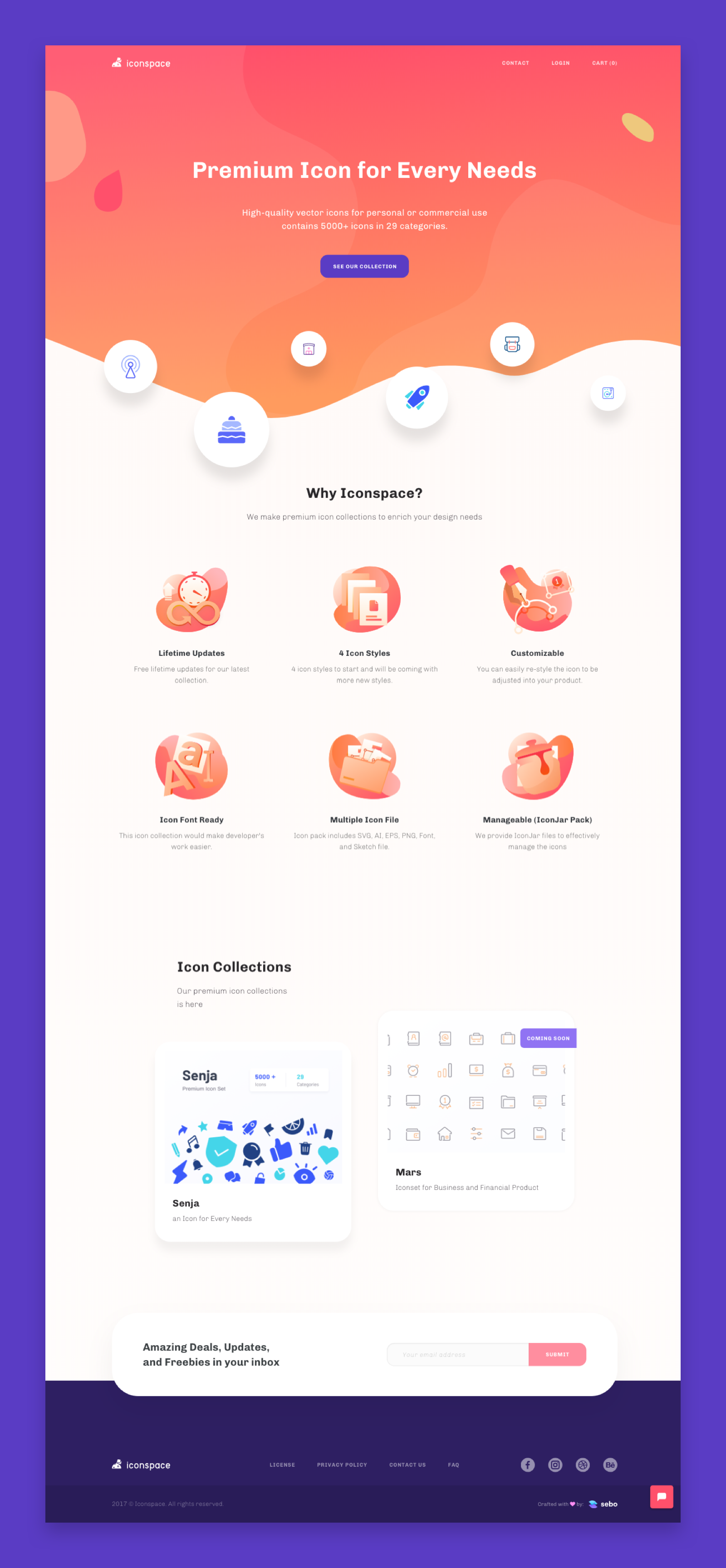 Iconspace website