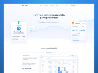 Vitally Trial Page