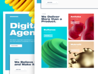 Digital Agency Website Exploration
