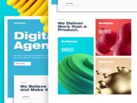 Digital Agency Website Exploration