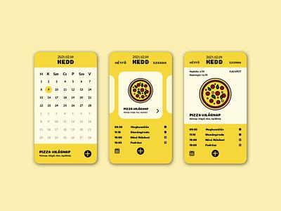 Calendar calendar app app ui challange ui illustration design