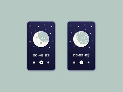 Countdown Timer countdown timer app ui ui challange illustration design