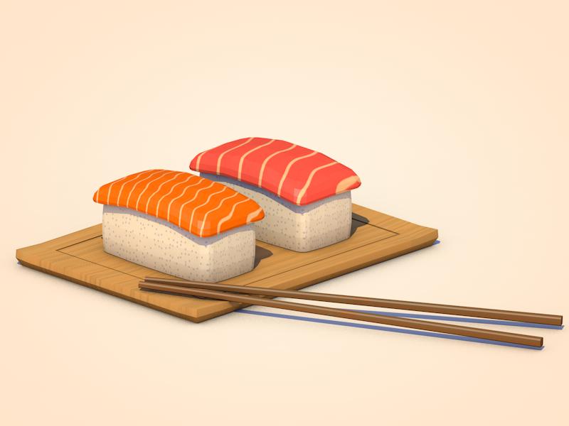 壽司 bamboo chopsticks rice fish sushi