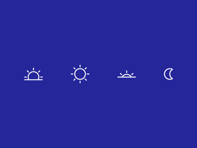 time-of-day icons