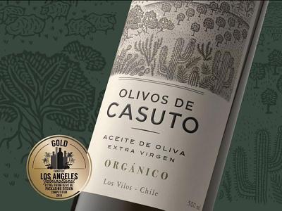 Olivos de Casuto award winning premium design bottle mockup bottle label packaging packagedesign labeldesign typography logo design illustration