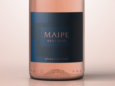 Maipe organic labeldesign premium design design illustration art branding concept packagedesign award winning bottle mockup packaging bottle label