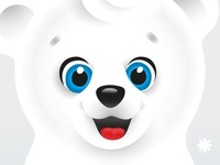 White teddy-bear