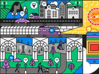 Mobile Life Science Mural