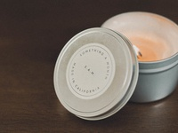 August 2017 - Soy Wax Candle