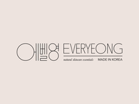 Everyeong Logotype Lockup