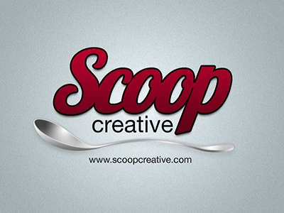 Scoop Creative Logo logo illustration