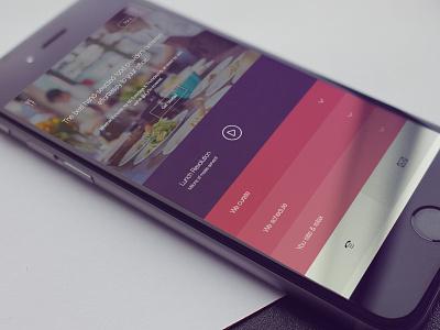 Catering - mobile UI design restaurant food catering ux responsive website design ui mobile