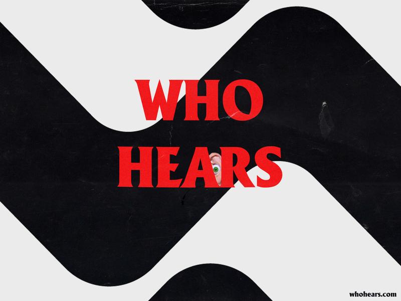 Sticker for those who hear. logo logotype illuatration typogaphy graphic music sticker design sticker