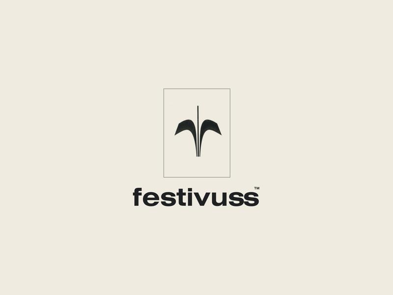 Festivuss logo exploration seinfeld typeface streetwear clothing brand fashion identity brand logo
