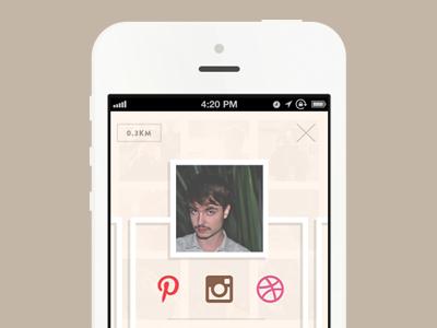 hypo profile hypo app profile social flat design