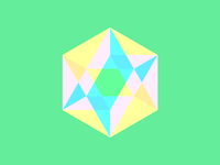 rgb icosahedron