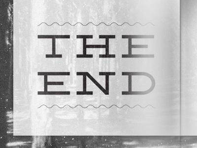 temp magazine typography the end magazine