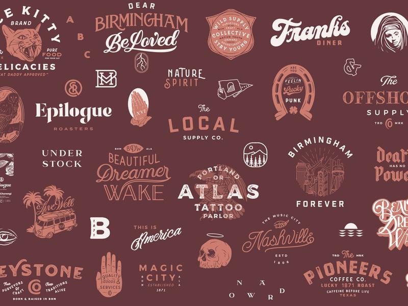 2018 in a Nutshell free font 2018 typeface birmingham handmade handlettering typography font type logo branding lettering
