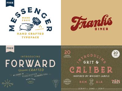 Top 4 of 2018 birmingham logo handlettering hand lettering typeface fonts free typogaphy type branding lettering