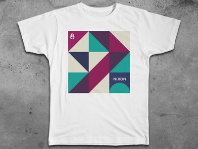 Nixon T-shirt Graphics by Abe Vizcarra - Dribbble