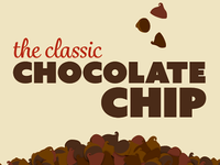 The classic chocolate chip