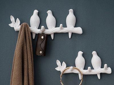 Móc treo quần áo hình chim bồ câu