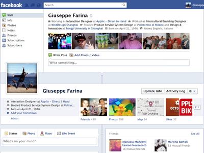 Facebook timeline 1.0 facebook timeline fake