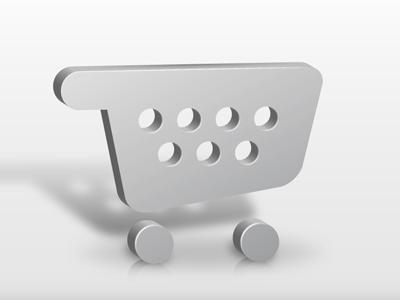 Cart cart vector 3d shopping