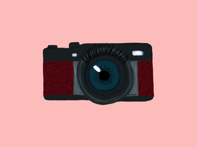 Camera eye artwork camera digital art illustration art