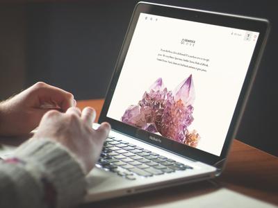End of Design Week interface photography ui ux webdesign mobiledesign dashboard mac