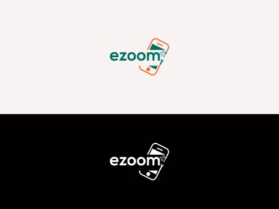 Mobile service Logo minimal design branding design logo mark symbol logotype branding identity typography