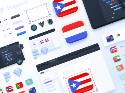 Faux 3d illustration system freebie sketch figma skeumorphism iconset icon set flags flag 3d icon illustrations illustration icons