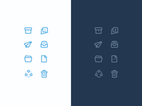 Email client icons
