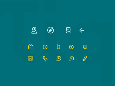 Tiqets Icons maps map receipt compass ticket tiqets android ui icons iconset icons icon