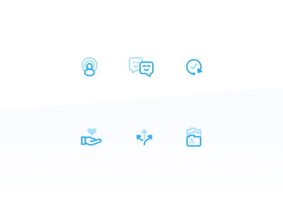 Services page icons icon icons icon set duo tone duo-tone two-tone people heart arrows folder check tick