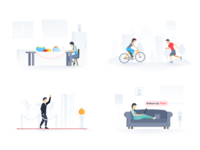Floor web app illustrations