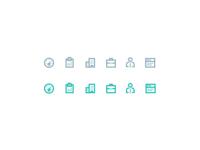 Hotelchamp sidebar icons attachment by yummygum