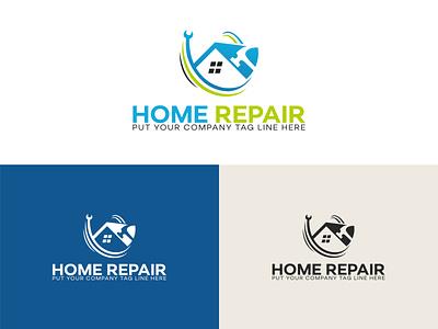Home Repair Logo Design branding and identity logo design free company logo brand logo design brand logo logo maker free logo maker branding design branding logo design logotype logos logo design