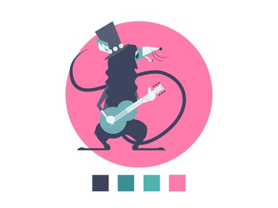 Rat Slash Character