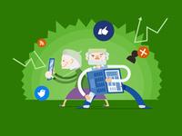 Social media & Senior citizens