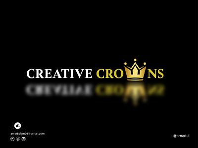 Crown Logo | Modern Logo | Logo Design symbol colorful logo visual identity design abstract startup logo modern logo icon motion graphics creative logo design golden logo minimal flat abstract logo monogram logo crown logo logo and branding vector logo graphic design