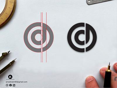 dc Monogram logo | Lettermark logo | Logo design symbol startup logo icon logotype logo and branding golden ratio typography logo logotypes monogram logo circle logo minimal lettermark logo dc monogram logo dc logo flat graphic design vector modern logo logos logo