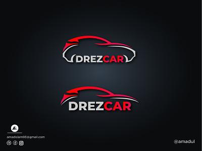 Car logo | Modern logo tech abstract startup logo logo and branding abstract logo red car colorful logo minimal logo modern car car car company car logo illustration flat creative modern logo vector logos logo graphic design