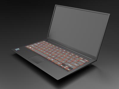 3D Modelling Laptop graphic design illustrations 3d models 3d art 3d model 3d artist 3d modeling 3d illustrations 3d illustration laptop 3d modelling modelling 3d