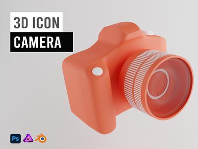 3D Icon Camera
