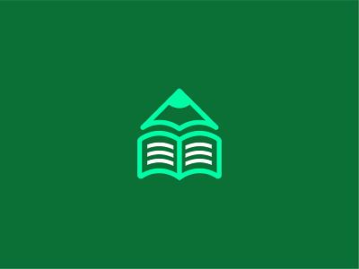 Education pen book pen pen book graduate education logo design flat logo overlapping modern typography minimalist logo modern logo logo design branding brand identity