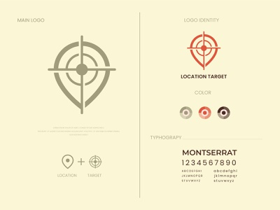Location target logo and brand identity place target location flat logo design modern logo minimalist logo modern logo logo design branding brand identity