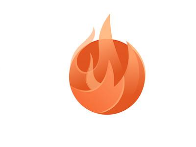 Fire overlapping firelogo hot fire design modern logo minimalist logo modern logo logo design