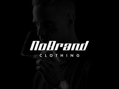 Clothing  logo | NoBrand clothing apparel fashion luxury clothing design modern logo minimalist logo branding modern logo logo design brand identity